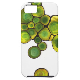 Green Cells Abstract Art iPhone 5 Cover