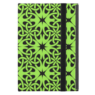 Green Celtic Knot CHOOSE YOUR OWN BACKGROUND Cover For iPad Mini