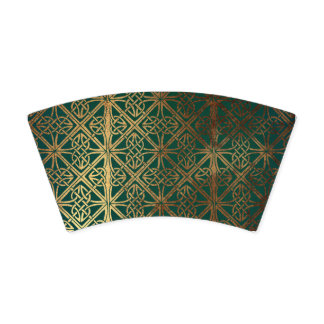 Green Celtic Paper Cup