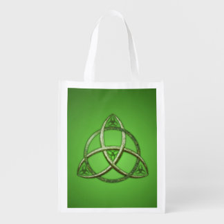 Green Celtic Trinity Knot
