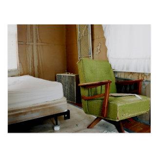 Green Chair Postcard