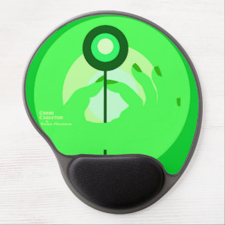 Green Chakation Mousepad Gel Mouse Pad
