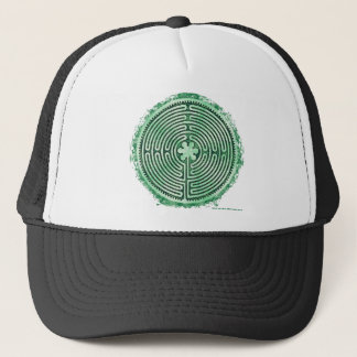 Green Chartres Cathedral Labayrnth Trucker Hat