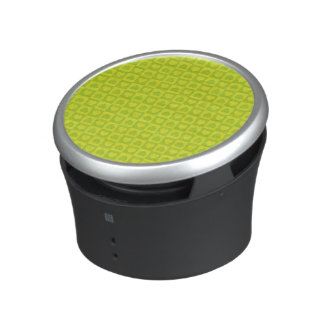 Green Chartreuse Heart Design Bluetooth Speaker