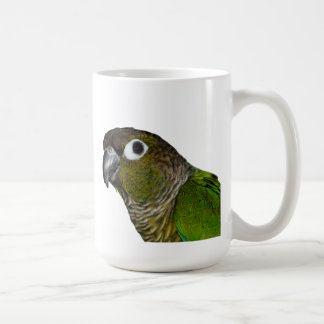 Green Cheeked Conure Coffee Mug
