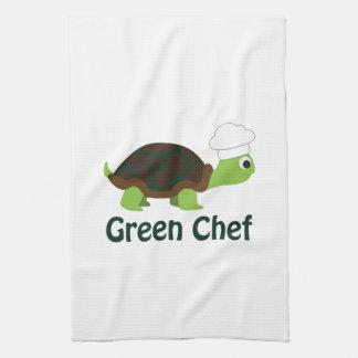 Green Chef Tea Towel