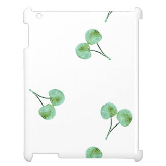 Green Cherry Pattern Case For The iPad
