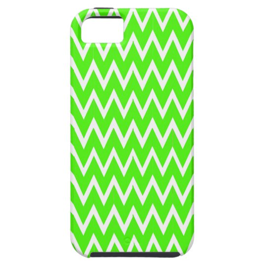 Green Chevron Illusion iPhone 5 Cases