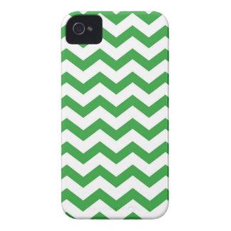 green chevron stripes iPhone 4 case