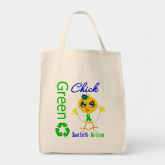 Green Chick Save Earth Go Green Bags