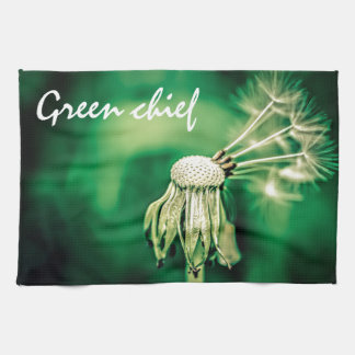 Green Chief Tea Towel