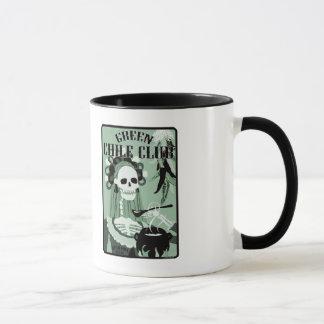 green chile club mug