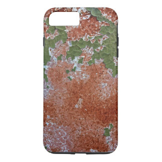Green Chipping Paint Rusted Metal Pattern iPhone 8 Plus/7 Plus Case