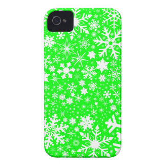 Green Christmas Blast iPhone 4 Cover