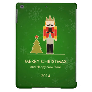 Green Christmas - Nutcracker Holiday Greeting Case For iPad Air