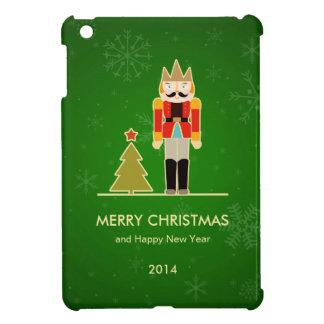Green Christmas - Nutcracker Holiday Greeting Case For The iPad Mini