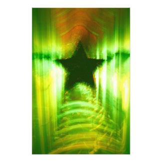 Green Christmas star Photo Art