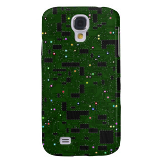 Green Circuit Board Samsung Galaxy S4 Case