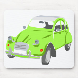 Green Citroen 2 CV Mousemat