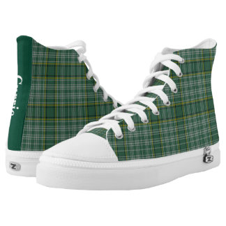 Green Clan Currie Plaid High Tops