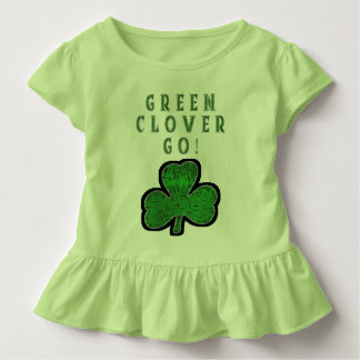GREEN CLOVER GO TODDLER T-Shirt