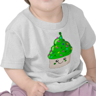 Green Clover St Patricks Day Cute Cupcake T Shirts