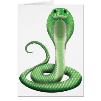 GREEN COBRA CARDS