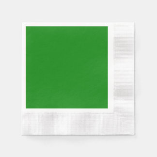 Green Coined Cocktail Paper Napkin