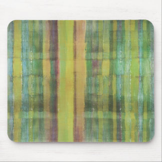 Green Colored Abstract Modern Art Mousepad