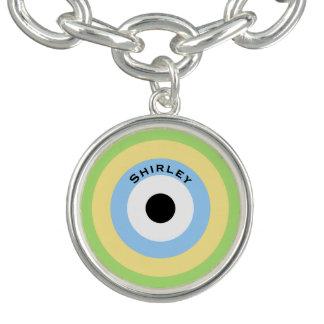 Green Combination Bullseye by Shirley Taylor