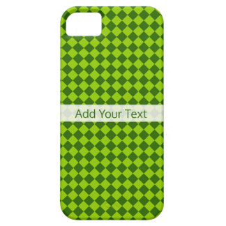 Green Combination Diamond Pattern by STaylor Case For The iPhone 5