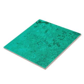 Green Copper Verdigris Patina Dot Tile