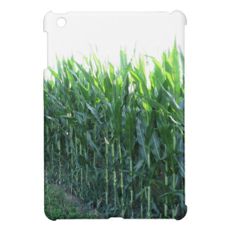 Green corn field on summer day iPad mini cases
