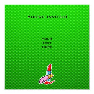 Green Cosmetics 13 Cm X 13 Cm Square Invitation Card