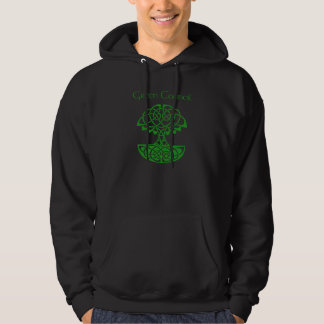 Green Council Hooded Sweatshirt