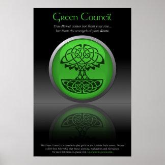 Green Council Recruitment Poster