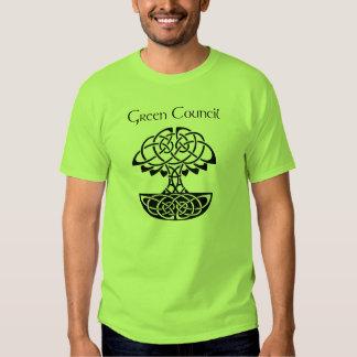 Green Council T-Shirt (Light)