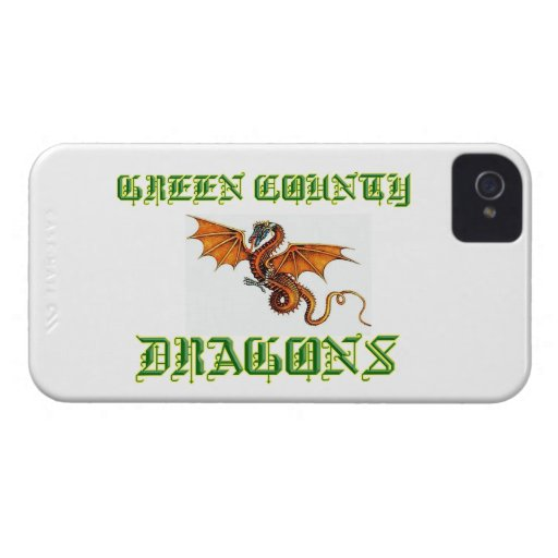 Green County Dragons Blackberry Phone Cover Blackberry Bold Cases