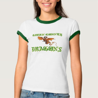 GREEN COUNTY DRAGONS Ladies T-Shirt