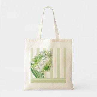 Green Cream Tulip Bag