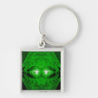 Green Creature of the Lake Key Ring