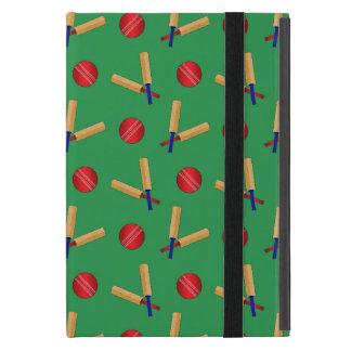 green cricket pattern case for iPad mini
