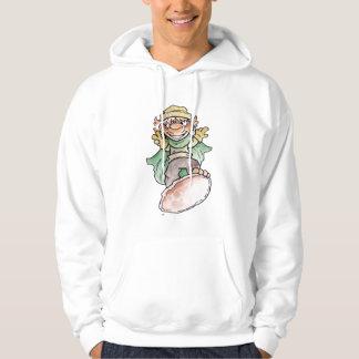Green Critter Hoodie