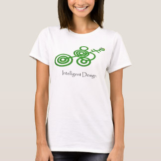 Green Crop Circles - Intelligent Design T-Shirt