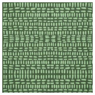 Green cross hatch drawing fabric