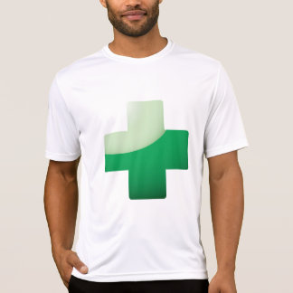 Green Cross Mens Active Tee