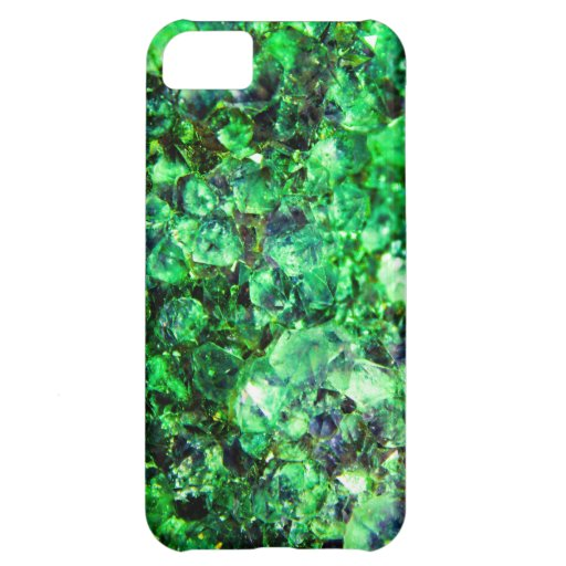 Green Crystal Design iPhone 5C Cover