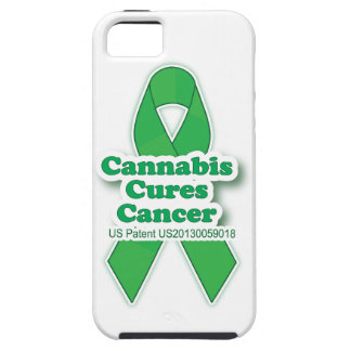 Green Cures Cancer Awareness iPhone 5 Covers