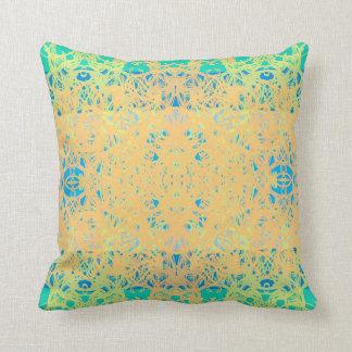 green cushion
