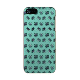 Green cyan flowers pattern incipio feather® shine iPhone 5 case